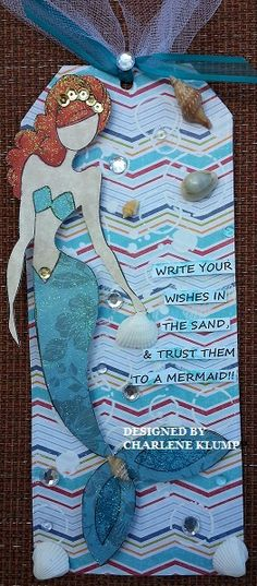 FREE DOLL TAG at June's  SCRAP-A-TEERS CROP. New Orleans, LA Designed by Charlene Klumpp