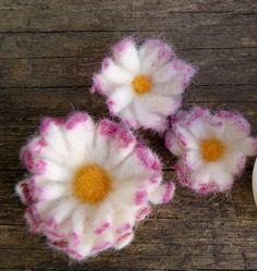 Gänseblümchen filzen