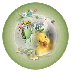 Decorate a Plate for Easter/Spring 🌸🐥 Easter, Plates, Friends, Spring, Tableware, Polyvore, Decor, Art, Licence Plates