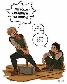 Part 1 Thor Y Loki, Marvel Heroes, Marvel Avengers, Funny Marvel Memes, Marvel Jokes, Marvel Comics, Marvel Cinematic Universe, Loki Laufeyson, Fandoms
