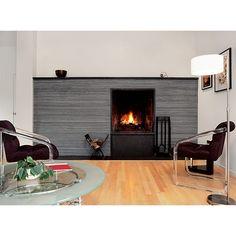 Modern New Construction 2 Fireplace1