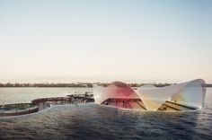 Currie Park Waterfront by Carlo Ratti Associati  Rendering by Carlo Ratti Associati