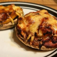 Sugar Pink Food: Recipe: Slimming World Stuffed Mushrooms