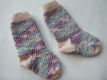 coole Babysocken, Socken aus Sockenwolle Gr. 22/23