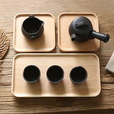 Beech Wood Tray, Wooden Tray, Wooden plates, Tea Tray, Beech plate, Dish