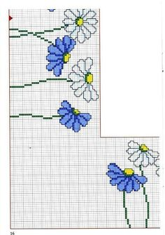 Solo Patrones Punto Cruz (pág. 207) | Aprender manualidades es facilisimo.com Cross Stitch Heart, Cross Stitch Borders, Cross Stitch Flowers, Cross Stitching, Cross Stitch Embroidery, Cross Stitch Patterns, Minecraft Pixel Art, Minecraft Skins, Minecraft Buildings