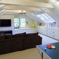 ATTIC Playroom Design, Pictures, Remodel, Decor and Ideas - page 3