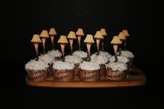 A Christmas Story Cupcakes (My Dad would get such a kick out of these...)
