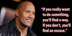 Motivation from the rock True Quotes, Great Quotes, Quotes To Live By, Motivational Quotes, Inspirational Quotes, Rock Quotes, Motivational Thoughts, Motivational Pictures, Uplifting Quotes