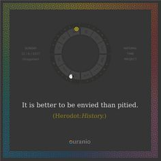 Ouranio.com | Daily quote: Herodot, «It is better...»