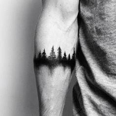 40 kreative Forest Tattoo Designs und Ideen – … Tattoo ideen – tattoo style 40 creative forest tattoo designs and ideas tattoo ideas … Tattoo Band, Forearm Band Tattoos, Diy Tattoo, Forearm Tattoo Design, Mens Forearm Tattoos Small, Mens Wrist Tattoos, Arm Tattos, Design Your Tattoo, Placement Tattoo