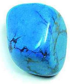 Crystals & Stones: #Blue #Howlite is a super-calming stone, and many people use it to relieve stress of all kinds. It makes an excellent antidote to insomnia due to an overactive mind. Focusing on a piece of howlite can assist in journeying outside the body and gaining insight from past lives. Placed on the third eye, it opens memories of previous times and lifetimes. Howlite teaches patience. Place a howlite stone in your pocket to absorb your own anger or anger directed at you.