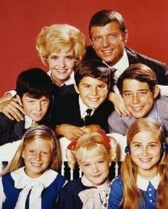 The Brady Bunch -- loved watching this and then little house on the prairie!