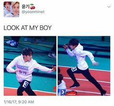 Look at him RUNNING! LOOK AT HIM OMO MY HEART