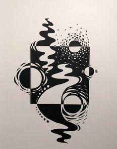 Balance Art, Balance Design, Notan Design, Design Art, Sketchbook Inspiration, Art Sketchbook, Elements Of Design, Principles Of Design Contrast, Notan Art