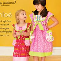 Special: Buy 6 Sewing Patterns, Receive $7.95 off your order! (discount applied at checkout)   Sizes 2T-10