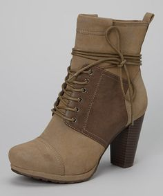 Taupe Melissa 02 Boot