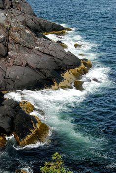 Coastline, Monhegan ME