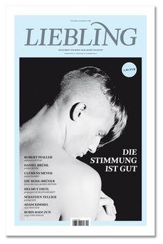 Magazine, Cover, Fashion, LIEBLING, Mario Lombardo