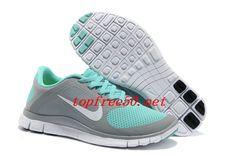 quality design 23e7c d5e28 RV5Ykt Dark Grey Jade Nike Free 4.0 V3 Women's Running Shoes Nike Free Run 2 ,