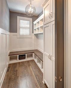 Mud Room, Storage Solutions, Locker Storage, Cabinet Ideas, Boot Bench, New