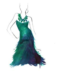 http://www.etsy.com/listing/73448638/watercolor-fashion-illustration-peacock