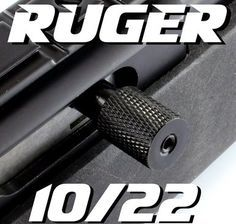 Upgrades for the ruger 10/22 rifle machined aluminum extended magazine release levers and extended charging handles made in a variety of colors and shapes to help individualize your own rifle the way you want.