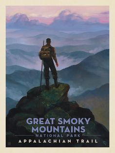 Anderson Design Group – American National Parks – Great Smoky Mountains National Park: Appalachian Trail