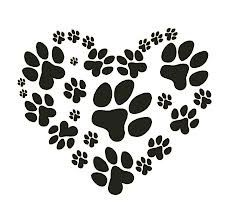 Hey, I found this really awesome Etsy listing at https://www.etsy.com/listing/127525608/animal-paw-heart-water-nail-decals