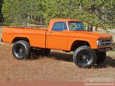 vitamin C 1968 Dodge W200 Passenger Side Front Three Quarter. I want to do this!!