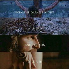 He has Risen, indeed! Até a noite mais escura terminará e o Filho ressuscitará.