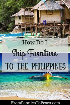 How to Ship Furniture to the Philippines Without Breaking the Bank: Selecting an international shipping company to safely and securely transport your goods. Shipping Company, When You Know, Patience, Philippines, Transportation, Outdoor Decor, Travel, Life, Furniture