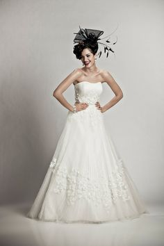 Matthew Christopher Peggy Sue gown via @Nordstrom #wedding