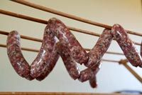 Step-by-step tutorial, with photos, on making homemade sausage. Includes recipe for Italian sweet sausage. Homemade Italian Sausage, Homemade Sausage Recipes, Sweet Italian Sausage, How To Make Sausage, Sausage Making, Home Made Sausage, Grillin And Chillin, Cooking Ingredients, Simply Recipes