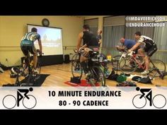 85 Minute Indoor Bike Trainer Workout with Roger Thompson, Timex - YouTube