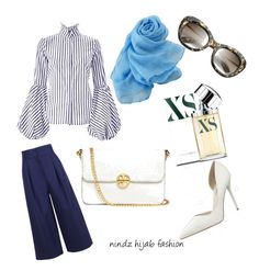 """""""my hijab fashion"""" by mean-da on Polyvore featuring TIBI, Tory Burch, Paco Rabanne and IVI"""