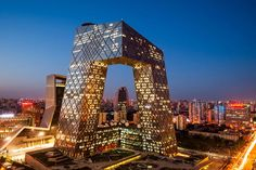 The CCTV Headquarters is a 234 m (768 ft), 44-story skyscraper on East Third Ring Road, Guanghua Road in the Beijing Central Business District (CBD).	#Beijing #China