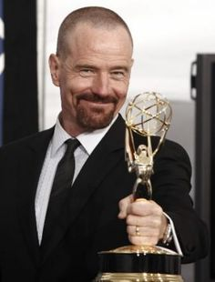 Bryan Cranston -  Age, a bald head and facial hair look good on this man