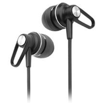 Sound-Squared Sound2 Xj5 Sport Earphones Headphones With Secure-To-The-Ear Fit System And Shirt Clip For Running, Walking, Or Any Other Activitity.
