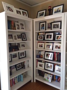I Wanted To Use My Bookshelves In Office As A Place Display More Photos