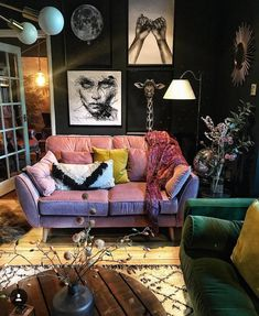Find out talking about Dark Eclectic Living Room and why you should. - Find out talking about Dark Eclectic Living Room and why you should be concerned 268 Ho - Eclectic Living Room, Eclectic Decor, Living Room Designs, Living Spaces, Eclectic Style, Dark Living Rooms, Living Room Themes, Eclectic Bedrooms, Bohemian Bedrooms
