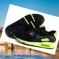info for 549e3 f76bc Nike Air Max 90 Uomo Nero Verde EM 2014,Latest trainers arrive - order from