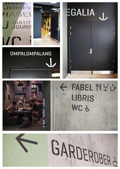 House of Literature, Fredrikstad, Wayfinding | European Design