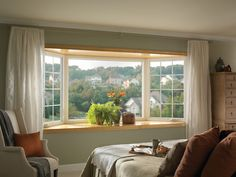Attractive Bay Window Treatments 2013 | Designs, Simple Elegant Ideas