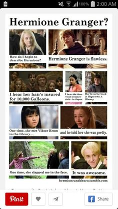This is just the best harry potter⚡/mean girls