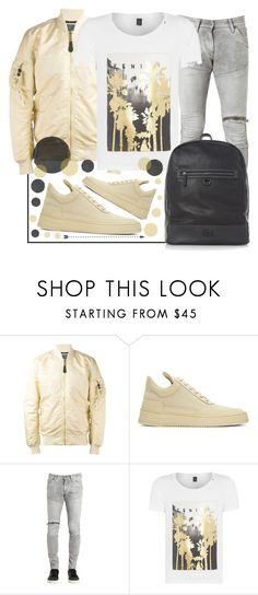 """""""✔️✔️✔️"""" by sanela-enter ❤ liked on Polyvore featuring Alpha Industries, Filling Pieces, G-Star, Replay, Dune, men's fashion and menswear"""