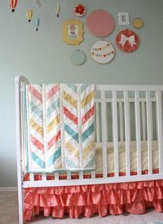farbliche abstimmung dekoration babyzimmer selbermachen