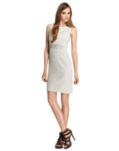 Anne Klein | Get a lovely, sophisticated look with any of AK's gorgeous dresses or summery shoes. Also, save 50 off a purchase of 150 or more w/ code. Pictured: Laced Sheath Dress