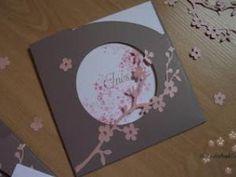 """Faire part naissance """"Fleurs de cerisier"""" - par Les Cartes d Aurore"""