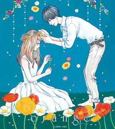 Orange Takano Ichigo--- This Manga made me cry so much, because I related so much to the main character's personality. She strived to save the boy she loved from committing suicide, and always putting others before her own feelings and thoughts. Este manga me hizo llorar mucho, porque relacionada tanto con la personalidad del personaje principal. Ella se esforzó por salvar al chico que amaba de cometer suicidio, y siempre poniendo a otros antes de sus propios sentimientos y pensamientos